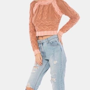 For love and lemons sweater